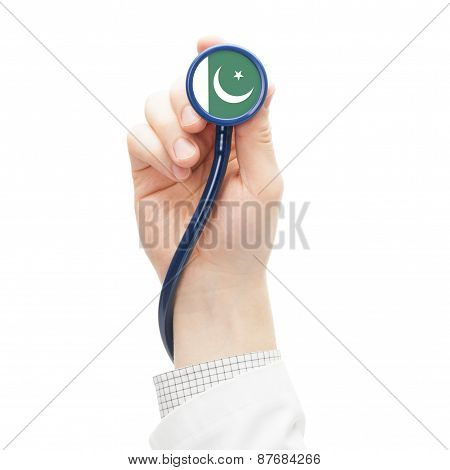 Stethoscope With National Flag Series - Pakistan