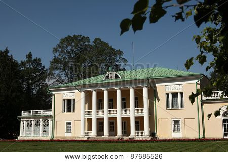 MOSCOW, RUSSIA - JULY 9, 2012: Gorki Estate where Soviet leader Vladimir Lenin dead in 1924 near Moscow, Russia.