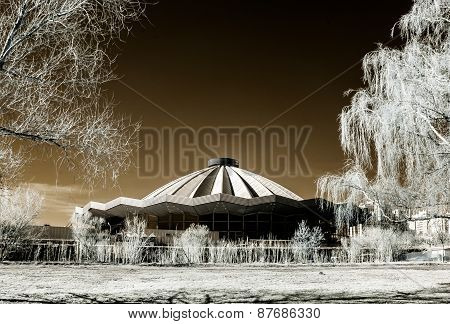 Moscow Grand Circus Infrared View