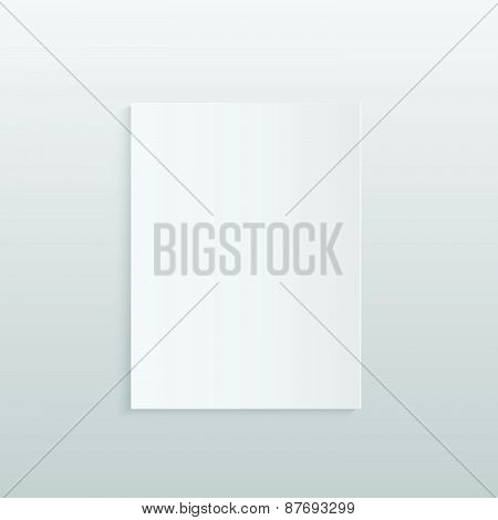 Blank Paper Illustration