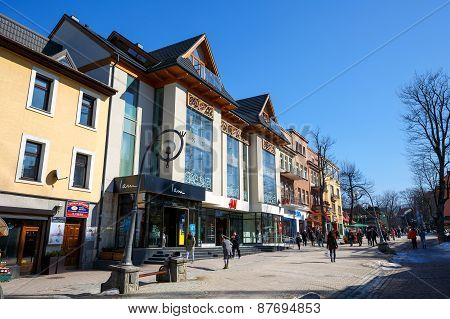 Commercial Building In Zakopane, Poland