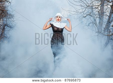 Nun In The Smoke.