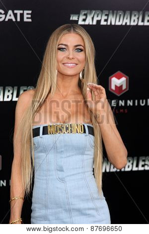LOS ANGELES - AUG 11:  Carmen Electra at the