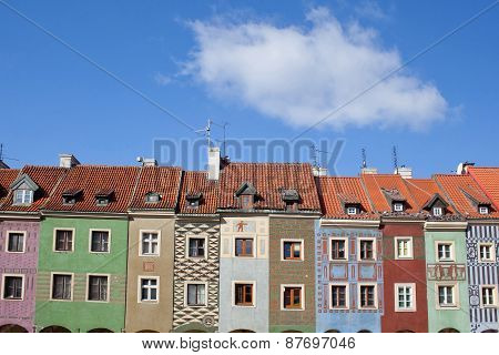 Old Town Square In Poznan, Poland