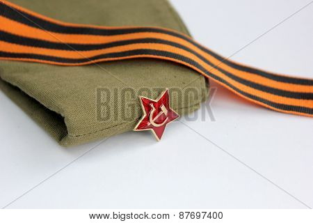 Red Army Man's Garrison Cap