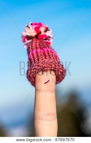 Happy Finger With Cap