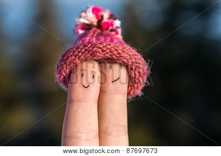 Happy Fingers With Cap - Always Together