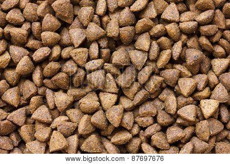 Premium dry cat food.