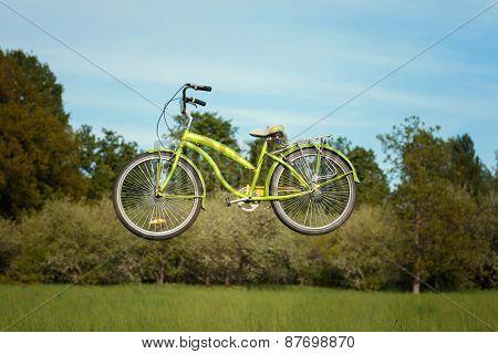 Flying Bike.