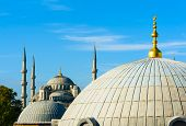 foto of cupola  - Blue Mosque  - JPG