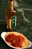 Spaghetti & Oil poster