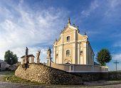 picture of trinity  - Trinity catholic church of the 18th century baroque - JPG