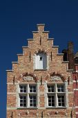 stock photo of gable-roof  - The unique example of medieval architecture - JPG