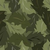 picture of camouflage  - Seamless vector square camouflage series in the green scheme - JPG