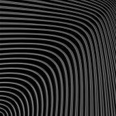 pic of distort  - Design monochrome movement illusion background - JPG