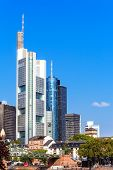 pic of frankfurt am main  - Skyline of Frankfurt am Main - JPG
