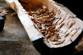 image of chisel  - Wood carving chisel - JPG