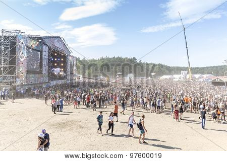 Main Stage Of The 21Th Woodstock Festival Poland