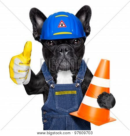 Warning Sign Dog