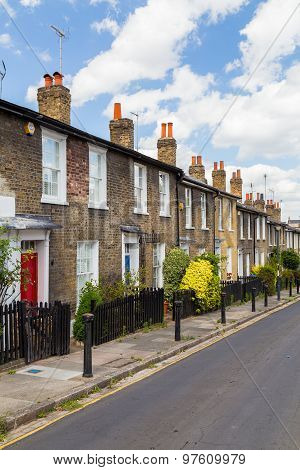 Terrace Buildings In London