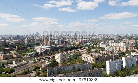 Moscow View From Above