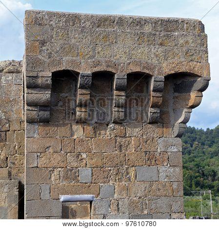 Bolsena (viterbo, Lazio, Italy): The Medieval Castle