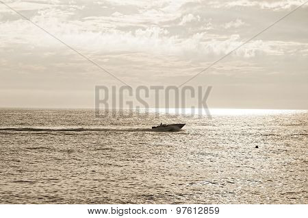 Unidentified Man In A Boat