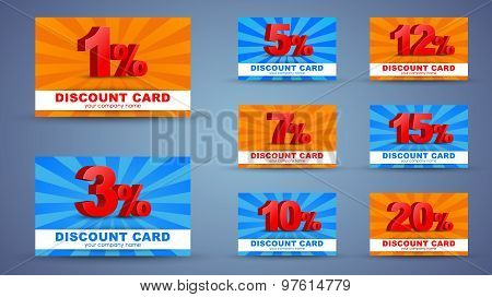 Design Discount Cards