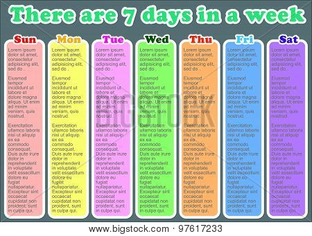 There Are 7Days In A Week.