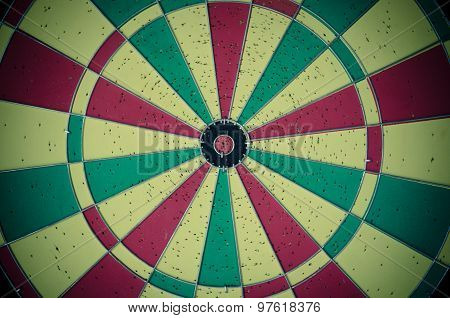 Colorful Dartboard.