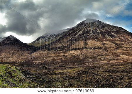 Glamaig Is The Highest Of The Red Hills