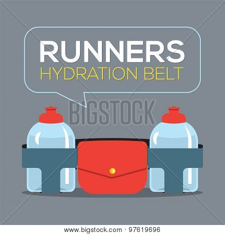 Runners Hydration Belt.