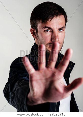 Warning Gesture
