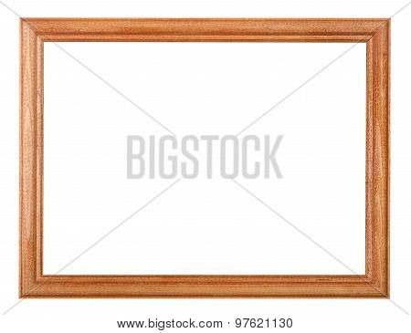 Smple Lacquered Narrow Wooden Picture Frame