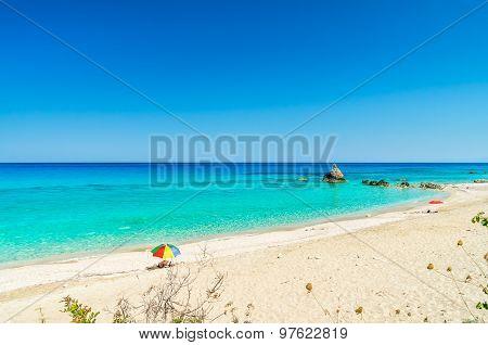 Avali Beach, Lefkada Island, Greece