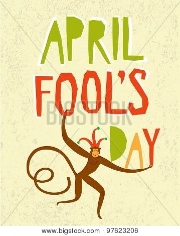 April Fools Day Illustration