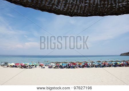 Paradisos Beach On Thassos Island