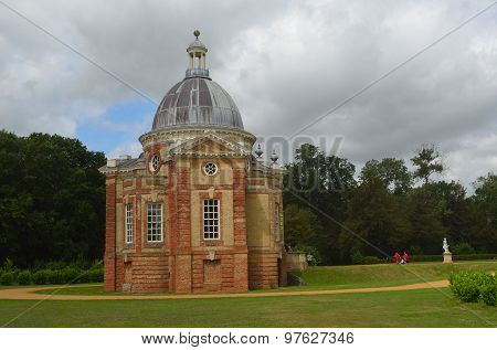 The Thomas Archer Pavillion at Wrest Park Silsoe Bedfordshire.