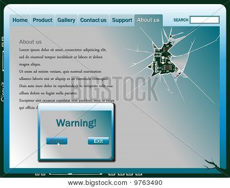 Broken Window Web Design.eps