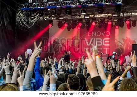 Lenovo Vibe Fest .saint-petersburg.russia.