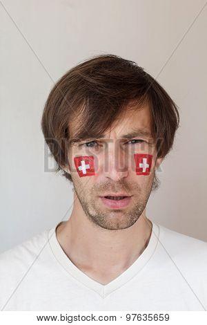Upset Swiss Sports Fan
