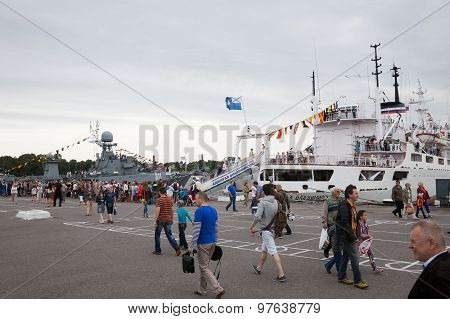 Day Of The Navy In Kronstadt