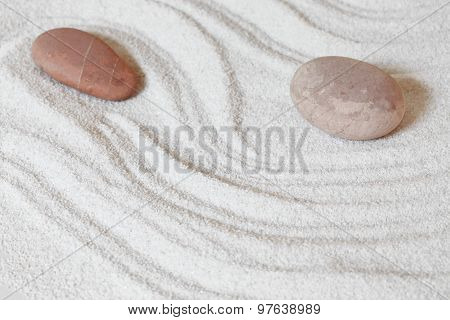 Stones Sand Background