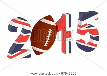 Rugby 2015 Great Britain Concept