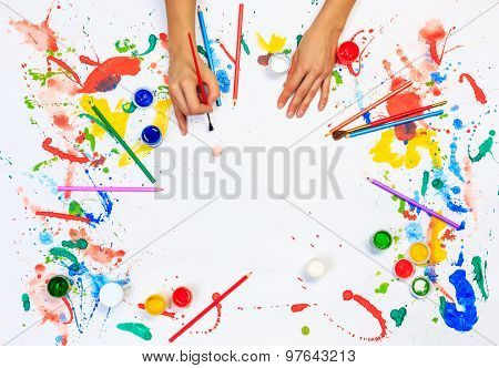 Painting and drawing hobby
