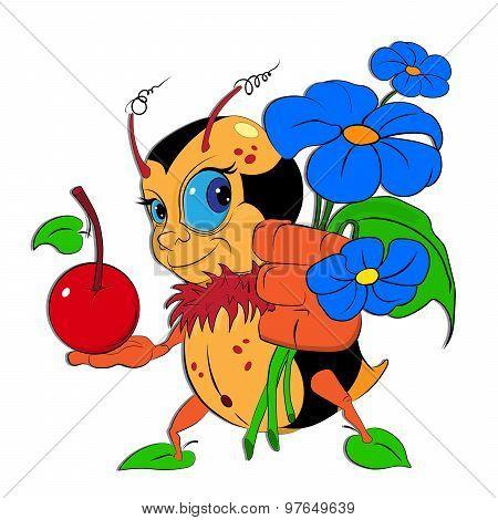 Funny Little Bumblebee