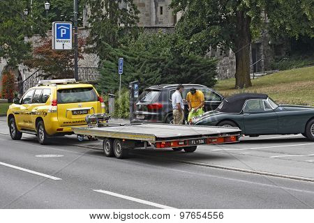 Liechtenstein - Vaduz - towing service