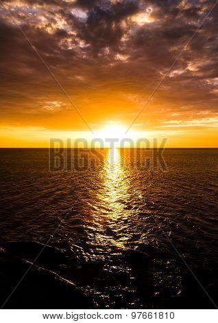 Idyllic Paradise Day Dawning