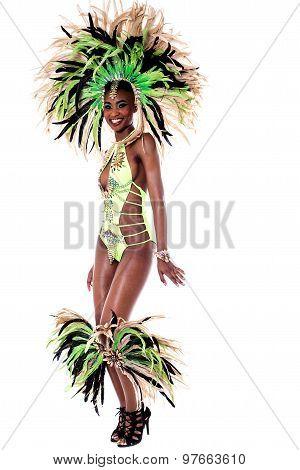 One Of My Best Samba Costume.