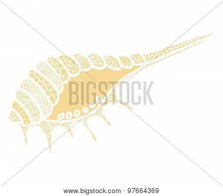 Doodles Vector Seashell
